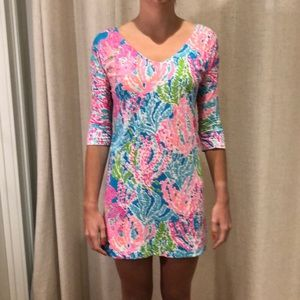 Lilly Pulitzer long sleeve cotton dress